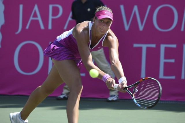Yanina Wickmayer... (PHOTO TORU YAMANAKA, AFP)