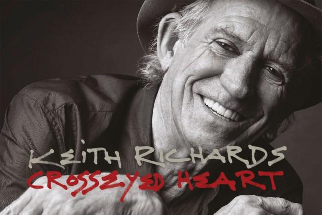Keith Richards n'est certes pas le plus prolifique des rockeurs:Crosseyed...