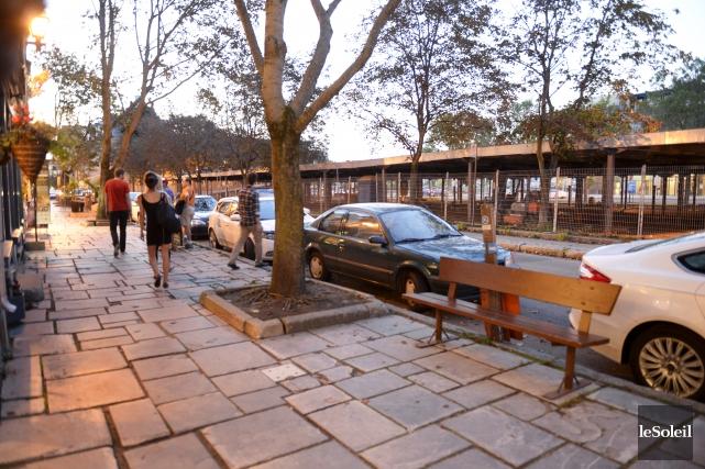 Le stationnement en question fait partie des stationnements... (Le Soleil, Jean-Marie Villeneuve)