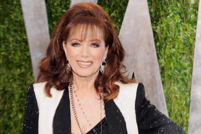 Jackie Collins était âgée de 77 ans.... (PHOTO ARCHIVES AP)