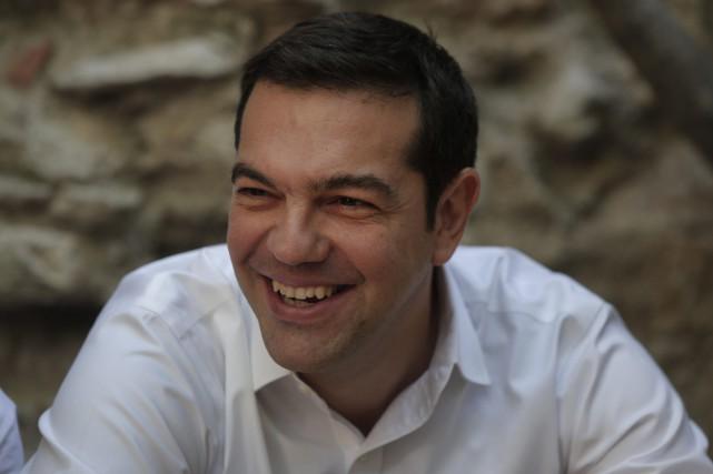 Alexis Tsiprasbénéficie de la bonne impression laissée par... (Photo Lefteris Pitarakis, AP)