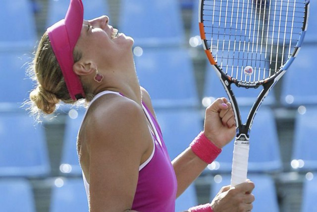 Yanina Wickmayer... (Photo AP)
