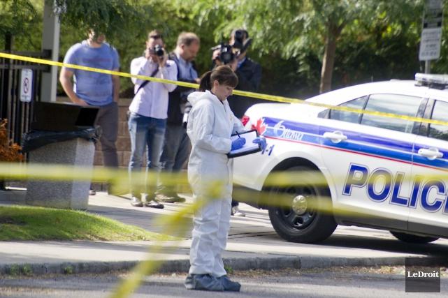 Deux individus ont été arrêtés et pourraient être... (Martin Roy, LeDroit)