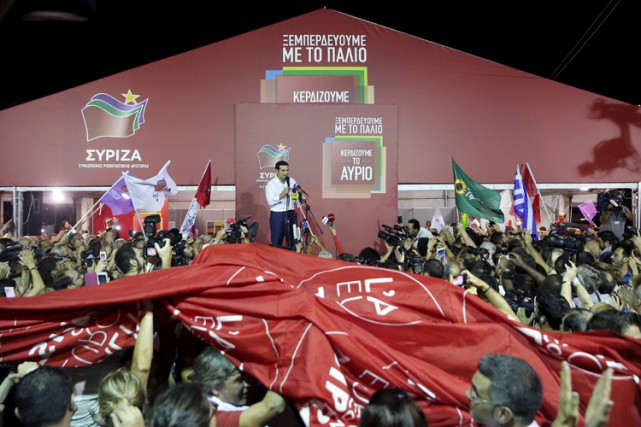 Les Grecs ont donné une deuxième chance à... (PHOTO REUTERS)
