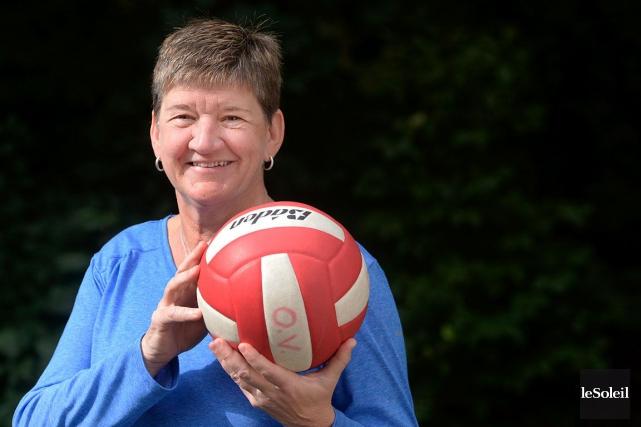 France Vigneault, ancienne entraîneure du club de volleyball... (Le Soleil, Jean-Marie Villeneuve)
