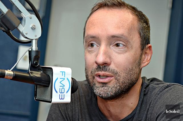 Sylvain Bouchard, du FM93... (Photothèque Le Soleil, Patrice Laroche)