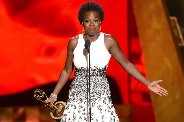 Viola Davis a été sacrée meilleure actrice pour... (Associated Press)