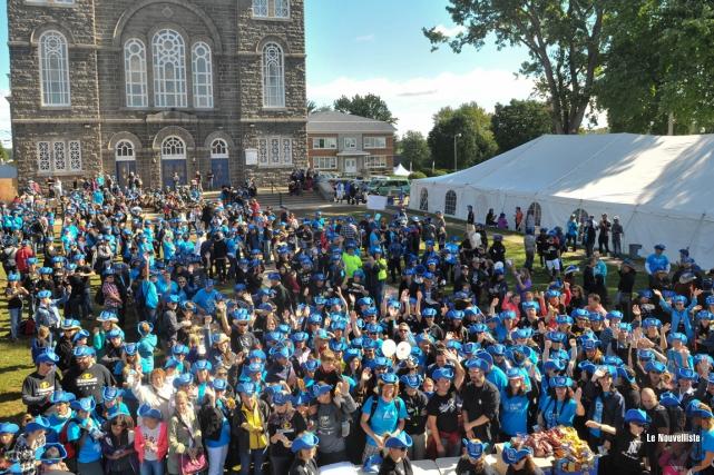 Des milliers d'enseignants et autres professionnels de l'éducation... (Photo: Émilie O'Connor, Le Nouvelliste)