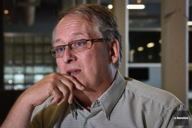 Jacques Grenier,candidat conservateur dans Saint-Maurice-Champlain.... (Photo: François Gervais, Le Nouvelliste)