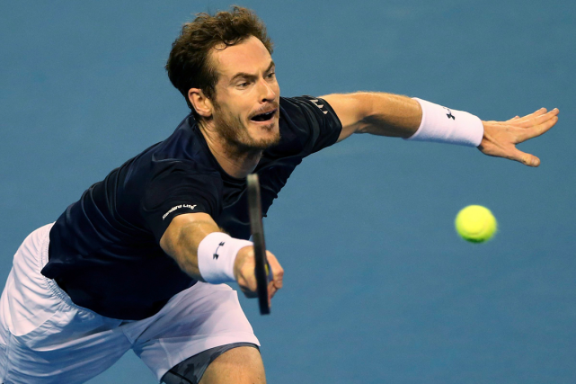 Andy Murray a permis à la Grande-Bretagne d'accéder... (Photo Scott Heppell, AP)