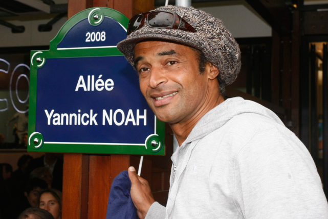 Yannick Noah... (Photo Michel Spingler, archives AP)