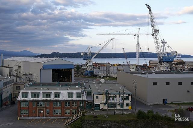 Harper a dit que les chantiers maritimes «ont... (Photo Mathieu Belanger, archives La Presse)