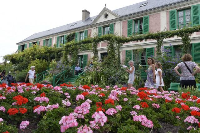 Giverny est l'un des lieux les plus photographiés... (PHOTO ARCHIVES AFP)