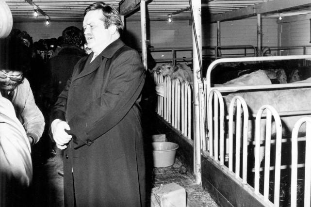 Jean Garon a dirigé le ministère de l'Agriculture... (Archives Le Soleil)