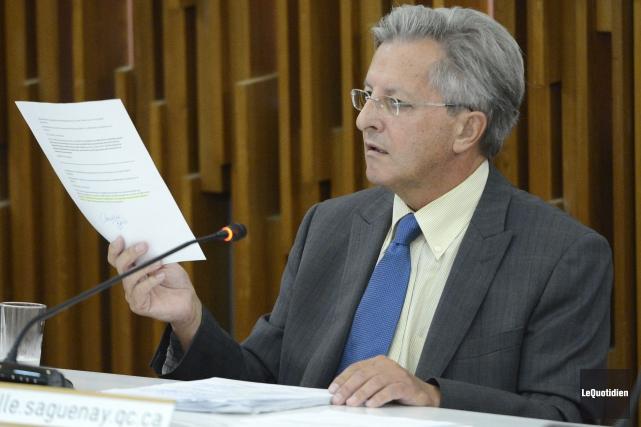 Le maire Jean Tremblay.... (Photo Le Quotidien, Jeannot Lévesque)