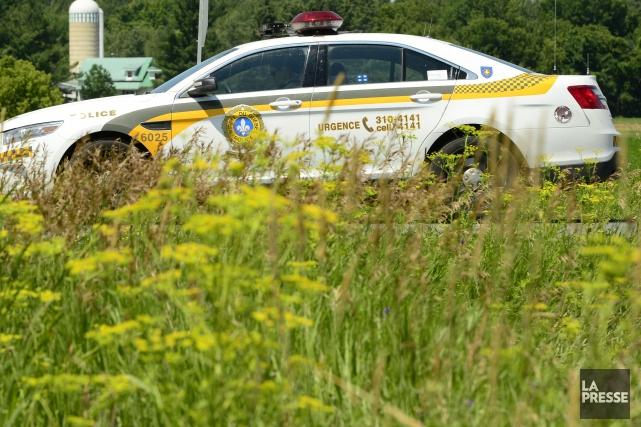 Après une brève poursuite policière, un chauffard roulant à tombeau ouvert sur... (Archives La Presse)