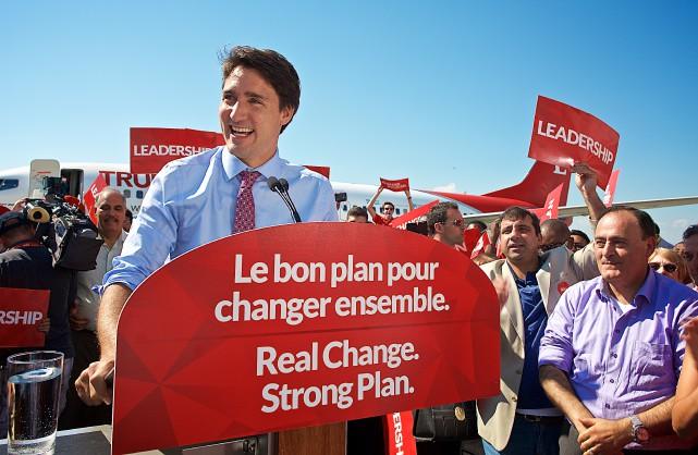 Au cours du débat de jeudi, «Justin Trudeau... (PHOTO ANDRÉ PICHETTE, LA PRESSE)
