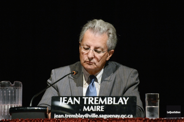 Jean Tremblay a lancé une énorme bombe, hier,... ((Archives Le Quotidien))