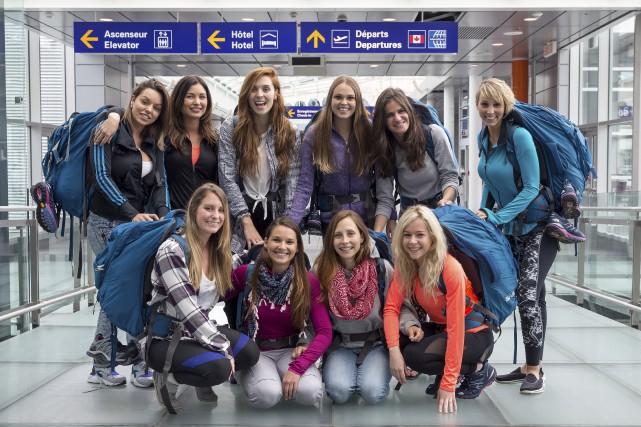Vingt candidats, dont 10 filles, sont du premier... (Photo fournie par TVA)