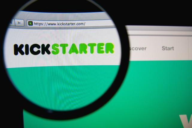 Kickstarter, basé à New York, est un site... (Shutterstock, Gil C)