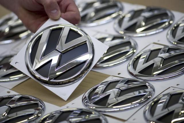 Volkswagen pourrait devoir verser des pénalités pouvant atteindre... (Agence France-Presse)