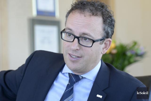 Jean-François Chalifoux, président-directeur général deSSQ Groupe financier... (Le Soleil, Jean-Marie Villeneuve)