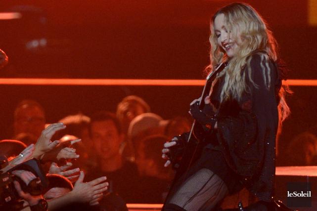 La reine de la pop n'a pas raté... (Le Soleil, Yan Doublet)