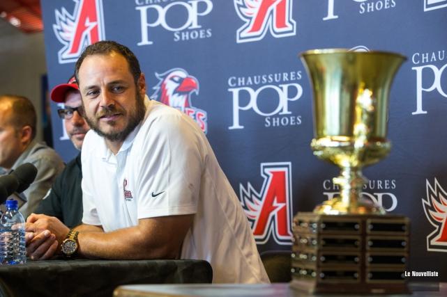 Après l'avoir remporté quatre fois à Québec, Pierre-Luc... (Photo: Olivier Croteau, Le Nouvelliste)