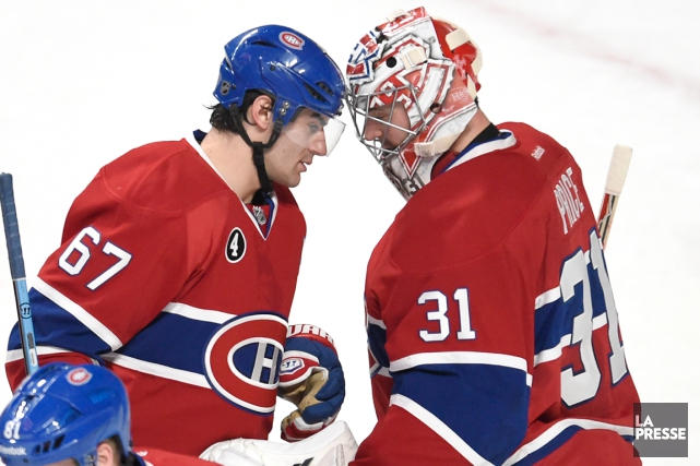 Carey Price estime que Max Pacioretty possède les... (Photo Bernard Brault, archives La Presse)