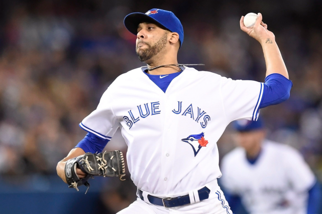 Le partant des Blue Jays David Price n'a accordé... (Photo Frank Gunn, PC)