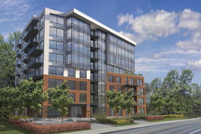 Le complexe Vic & Lambert aura 8 étages.... (ILLUSTRATION FOURNIE PAR INNEDESIGN)
