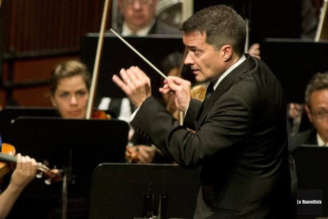 Maestro Jacques Lacombe considère que la nouvelle conque... (Photo: Sylvain Mayer, Le Nouvelliste)