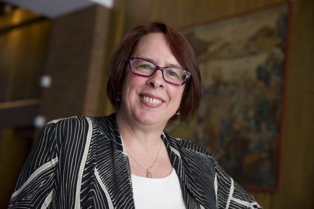 La présidente de la FCFA, Sylviane Lanthier.... (Martin Roy, Archives LeDroit)