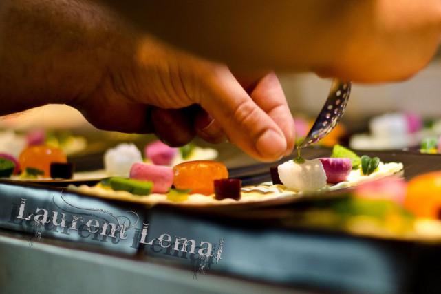 Le cuisinier Laurent Lemal, chef au restaurant La coopérative à Bélesta... (PHOTO TIRÉE DU SITE OFFICIEL DE L'ÉVÉNEMENT)