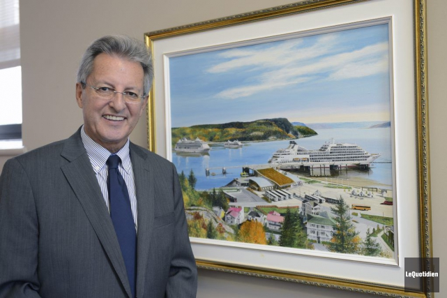 Jean Tremblay, maire de Saguenay, a annoncé hier... (Photo Jeannot Lévesque, archives Le Quotidien)