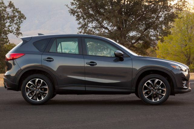 Le Mazda CX-5... (Photo fournie par Mazda)