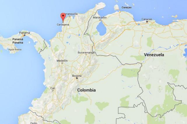 L'arrestation du capitaine est survenue dimanche soir, près... (Capture d'écran Google Maps)