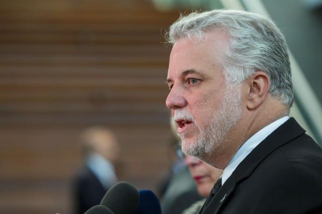 Le premier ministre du Québec, Philippe Couillard... (Photo d'archives Ulysse Lemerise, collaboration spéciale)