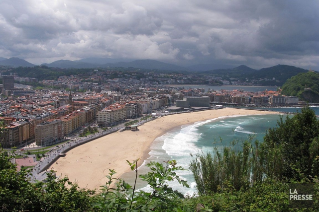 San Sebastian en Espagne.... (PHOTO ARCHIVES LA PRESSE)