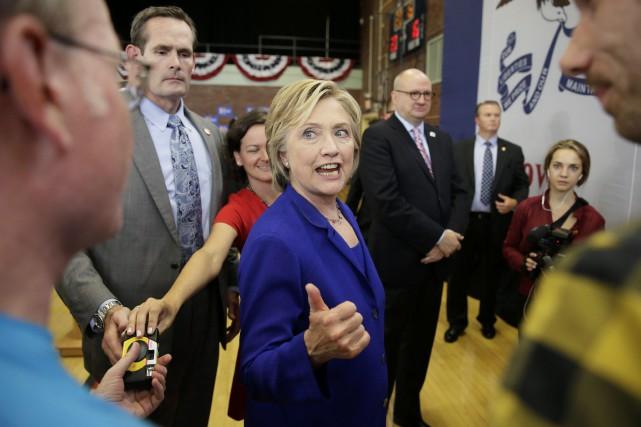 Jusqu'à présent, Hillary Clinton avait refusé de dire... (Photo Charlie Neibergall, AP)