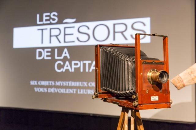 Un appareil photo de studio Eastman Kodak ayant... (Photo fournie par le Musée de la civilisation)