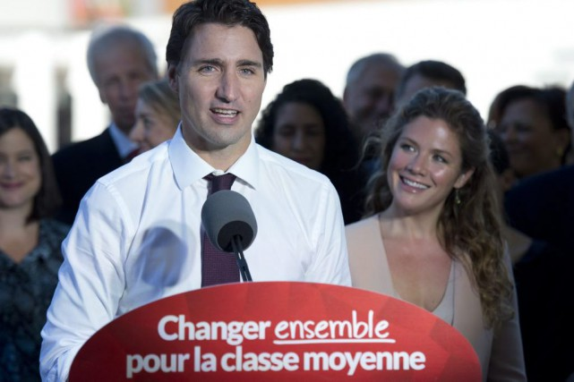 Justin Trudeau a dit clairement, mardi, qu'il n'appuierait... (Adrian Wyld, La Presse Canadienne)