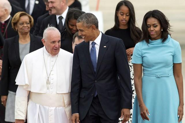 Barack Obama, un protestant, ne cache pas son... (AFP, SAUL LOEB)