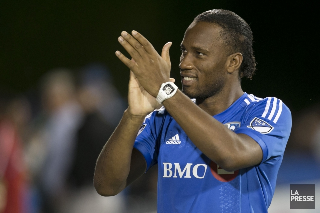 Didier Drogba... (PHOTO OLIVIER JEAN, ARCHIVES LA PRESSE)