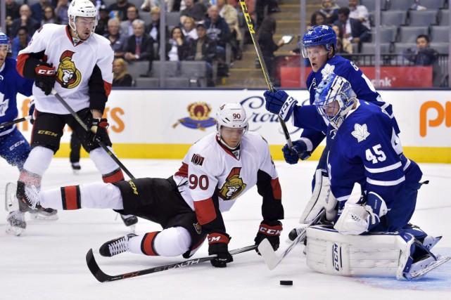 Alex Chiasson a été incapable de se remettre... (Nathan Denette, La Presse Canadienne)