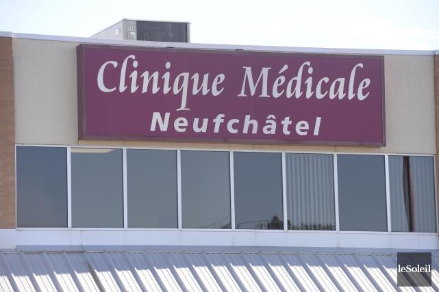 La clinique médicale de Neufchâtel, menacée de fermeture... (Le Soleil, Jean-Marie Villeneuve)