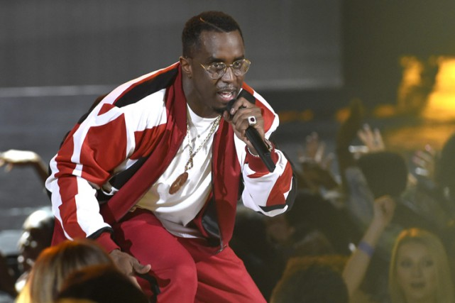 Diddy se fait rare sur scène. Son dernier... (PHOTO AP)