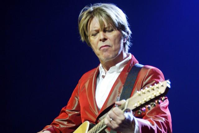 David Bowie... (PHOTO ARCHIVES AFP)