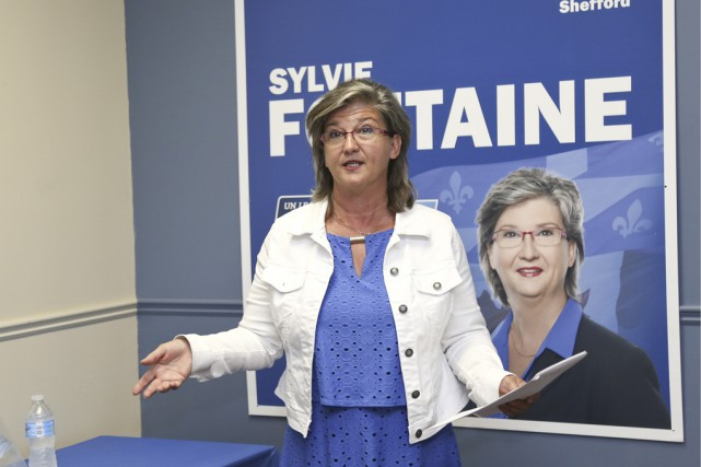La conservatrice Sylvie Fontaine est devenue hier la... (photo Julie Catudal)