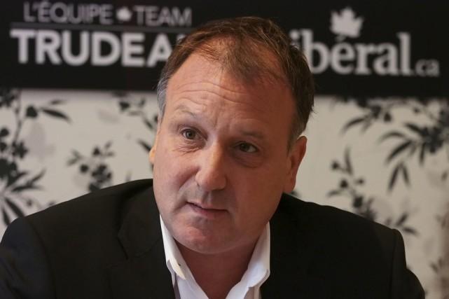 Le candidat libéral dans Shefford, Pierre Breton, a... (photo Alain Dion)